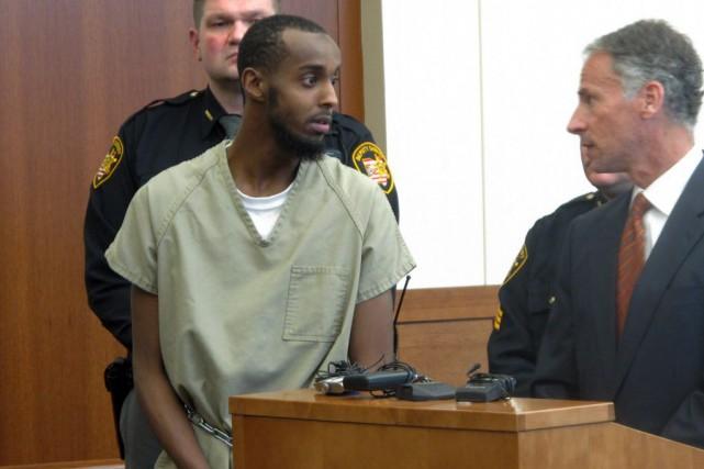 Abdirahman Sheik Mohamud, 23 ans, avait été arrêté... (Photo Andrew Welsh-Huggins, AP)