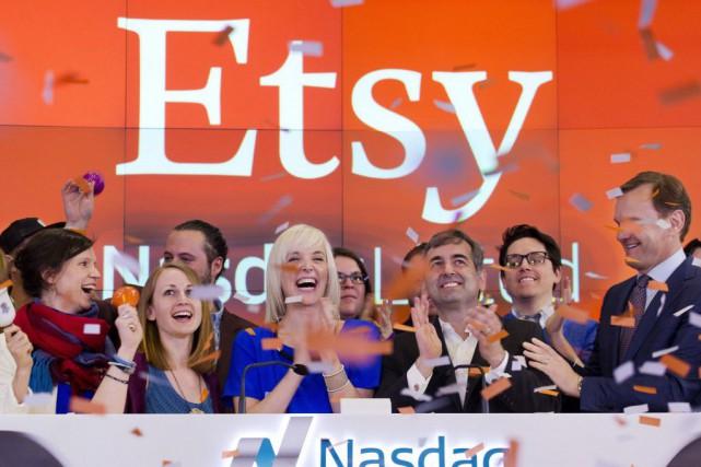 Etsy est une plateforme qui permet à des... (Photo Mark Lennihan, AP)
