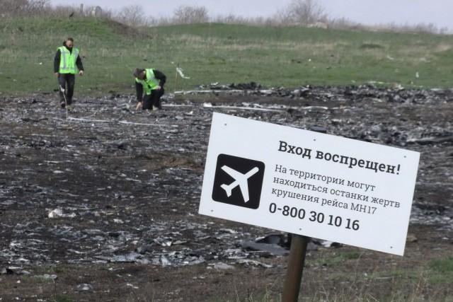 L'Ukraine et les États-Unis affirment que l'appareil a... (Photo Igor Tkachenko, Reuters)