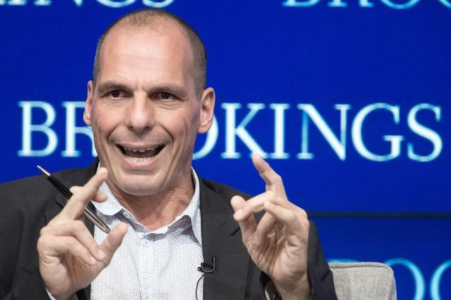 Le ministre grec des Finances Yanis Varoufakis a... (PHOTO PAUL J. RICHARDS, AFP)