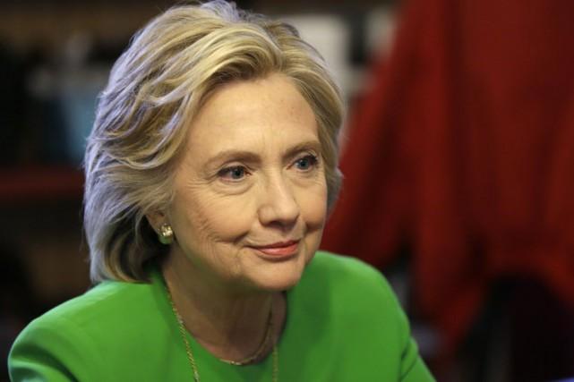 La candidate démocrate, 67 ans, rencontrera aussi, en... (Photo Charlie Neibergall, AP)