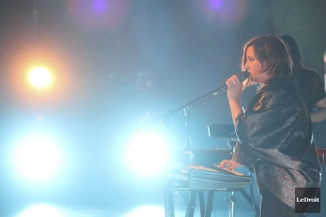 Ariane Moffatt a envoûté la foule du Théâtre... (Etienne Ranger, LeDroit)