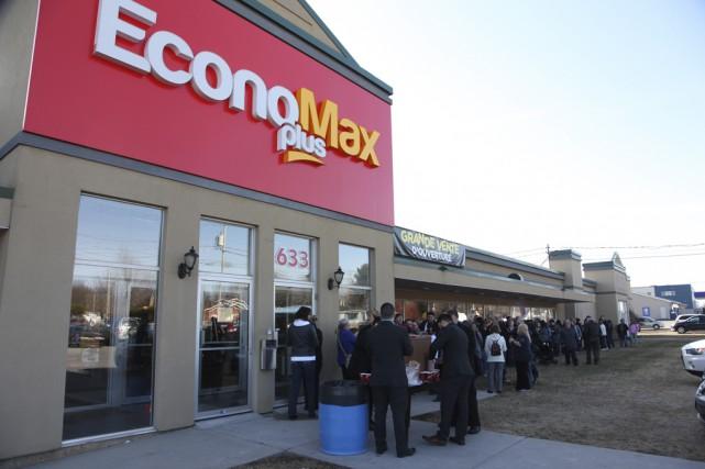 La 10esuccursale de la bannière EconoMax a ouvert... (photo Alain Dion)