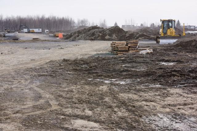 Si certains doutent de la réalisation du complexe commercial du District 55, la... (Photo: François Gervais Le Nouvelliste)