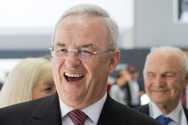 Le PDG de Volkswagen Martin Winterkorn... (PHOTO ARCHIVES AP)