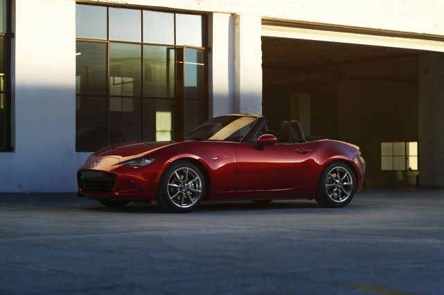 La Mazda MX-5... (PHOTO FOURNIE PAR MAZDA)