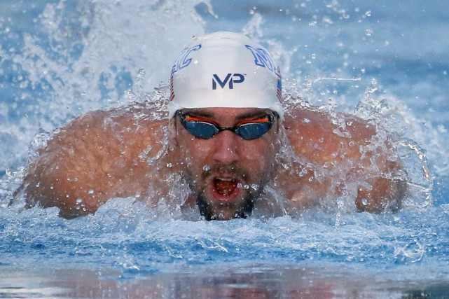 Michael Phelps... (PHOTO MATT YORK, ASSOCIATED PRESS)