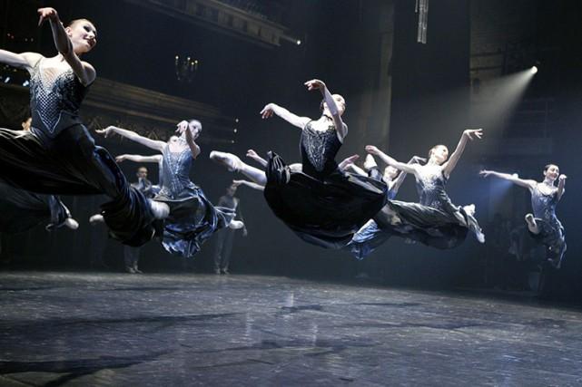 La virtuosité du corps de ballet donne littéralement... (Photo: fournie par les GBCM)