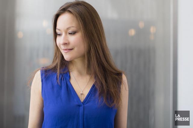 La violoniste nippo-allemande Arabella Steinbacher possède déjà une... (Photo: Édouard Plante-Fréchette, La Presse)