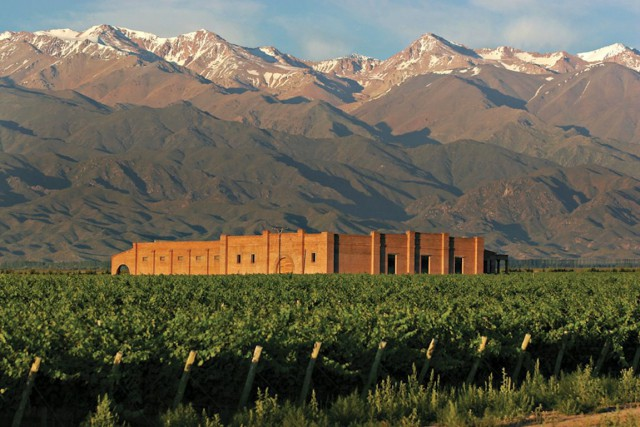 Des vignobles au coeur de la province argentine de... (Photo San Francisco Wine Exchange, Bloomberg News)