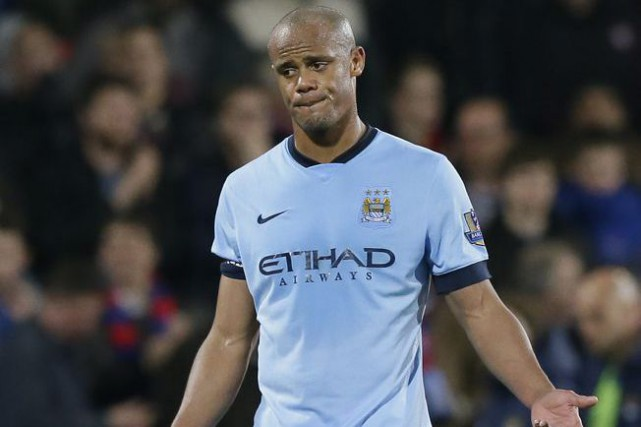 Vincent Kompany... (PHOTO TIM IRELAND, ARCHIVES ASSOCIATED PRESS)