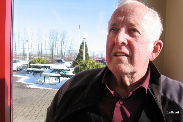 Joint parLeDroitjeudi, le maire Conrad Lamadeleine a exprimé... (ARCHIVES, LeDroit)