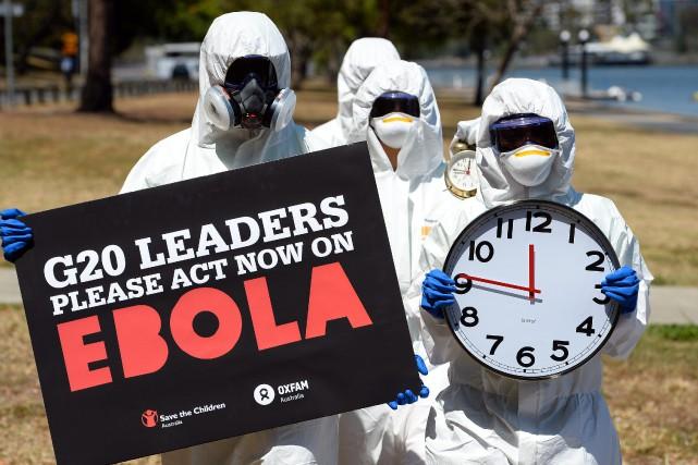 Selon des sources guinéennes, le montant des aides... (PHOTO ARCHIVES AFP)