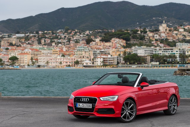 La Audi A3 cabriolet... (PHOTO FOURNIE PAR AUDI)