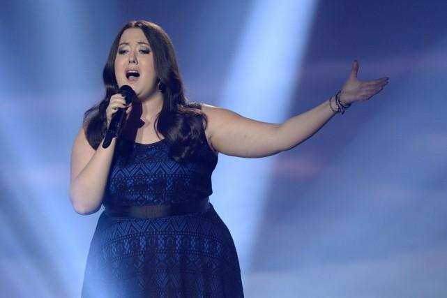 Renée Wilkin a été finaliste à l'émission La... (Courtoisie)