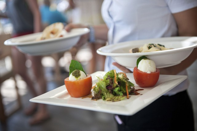 Au restaurant, si on n'a pas aimé son... (Photo Thinkstock)