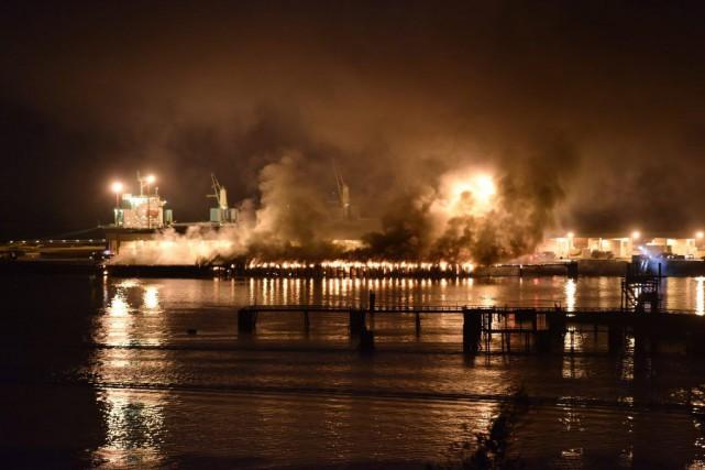 Le port en eaux profondes de Squamish est... (Photo Silvester Law, PC)