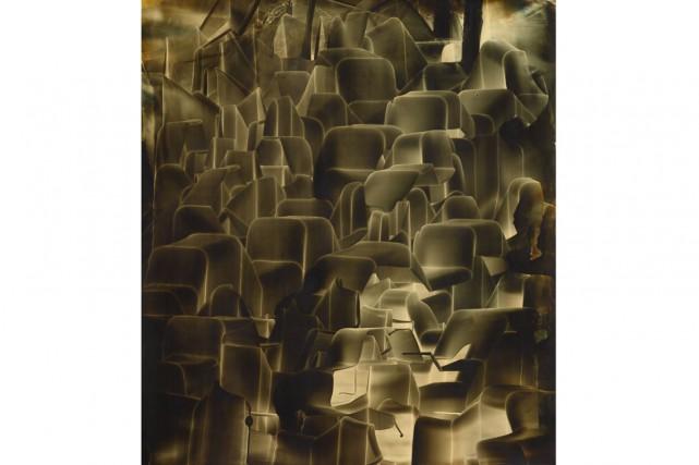 Tracé vers l'Estaque, 2015, huile sur toile, 94... (Photo: fournie par la Galerie d'Este)