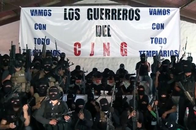 LeCartel de Jalisco Nouvelle Génération (CJNG), jusqu'alors moins... (PHOTO BORDERLANDBEAT.COM)