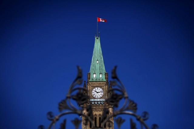 Alors que le gouvernement conservateur déposera son «budget préélectoral» mardi... (PHOTO ARCHIVES BLOOMBERG)