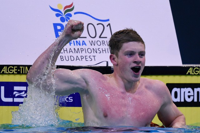 Adam Peaty... (PHOTO TOBIAS SCHWARZ, ARCHIVES AFP)