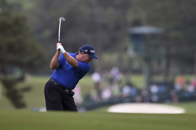Ian Woosnam... (PHOTO DON EMMERT, AFP)