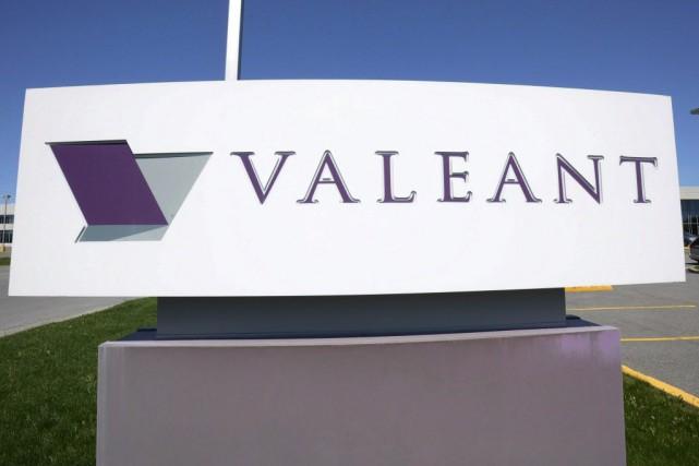 À la Bourse de Toronto, l'action de Valeant... (Photo Ryan Remiorz, La Presse Canadienne)