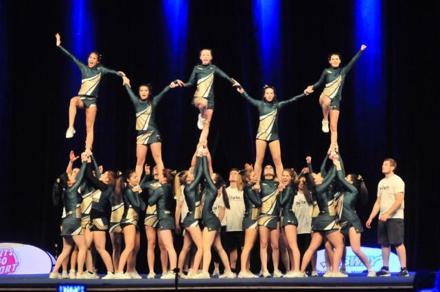 Près de 4000 adeptes de cheerleading sont attendus... (PHOTO: ÉMILIE O