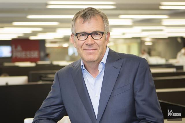 Guy Crevier, président et éditeur de La Presse... (PHOTO OLIVIER PONTBRIAND, LA PRESSE)