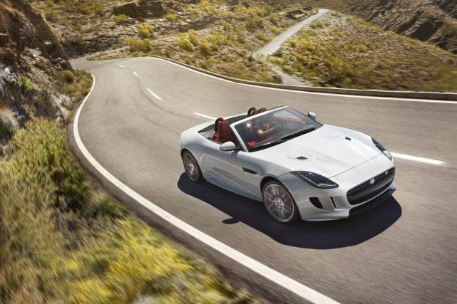 La Jaguar F-Type... (PHOTO FOURNIE PAR JAGUAR)