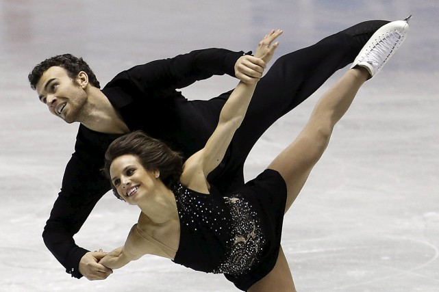 Eric Radford et Meagan Duhamel... (Photo Yuya Shino, Reuters)