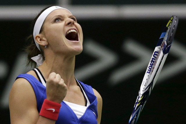 Lucie Safarova... (Photo David W Cerny, Reuters)