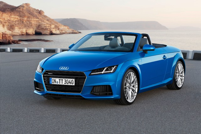 La Audi TT Roadster... (PHOTO FOURNIE PAR AUDI)