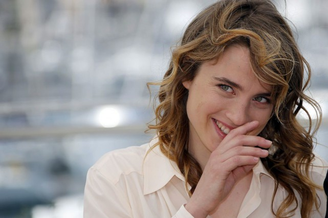 Adèle Haenel au Festival de Cannes, en 2014.... (PHOTO ERIC GAILLARD, ARCHIVES REUTERS)