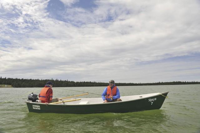 Les amateurs de pêche peuvent d'ores et déjà penser à leurs prises de l'an... (Photo SÉPAQ)