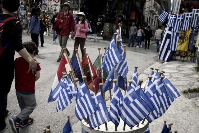 Ce n'est que lorsqu'Athènes aura présenté ces mesures... (PHOTO LOUISA GOULIAMAKI, AFP)