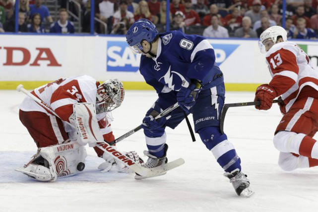 Tyler Johnson... (Photo Chris O'Meara, AP)