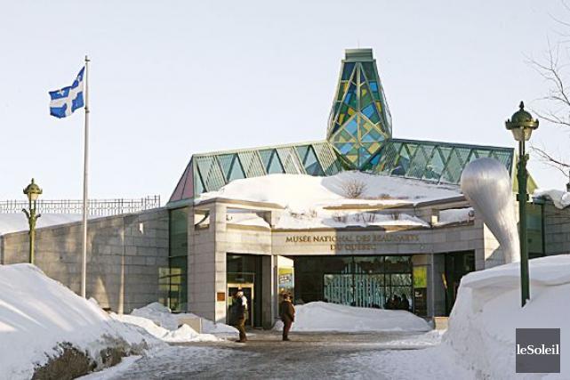 Musée national des beaux-arts du Québec... (Photothèque Le Soleil, Yan Doublet)
