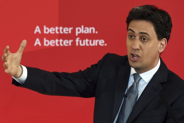 Ed Miliband... (PHOTO PAUL ELLIS, AFP)
