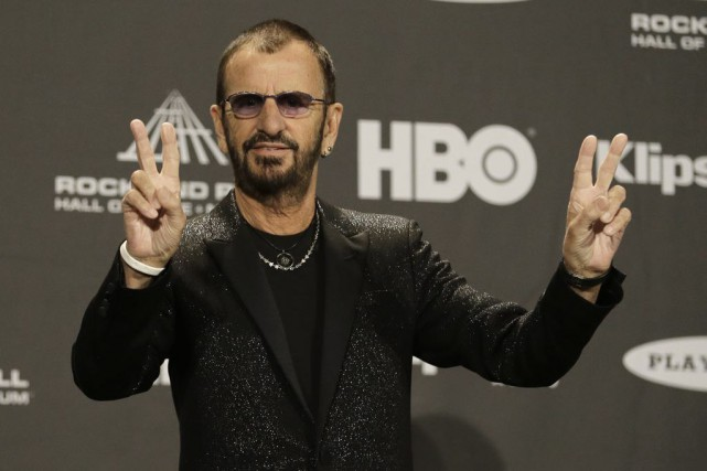 Ringo Starr... (PHOTO ARCHIVES AP)