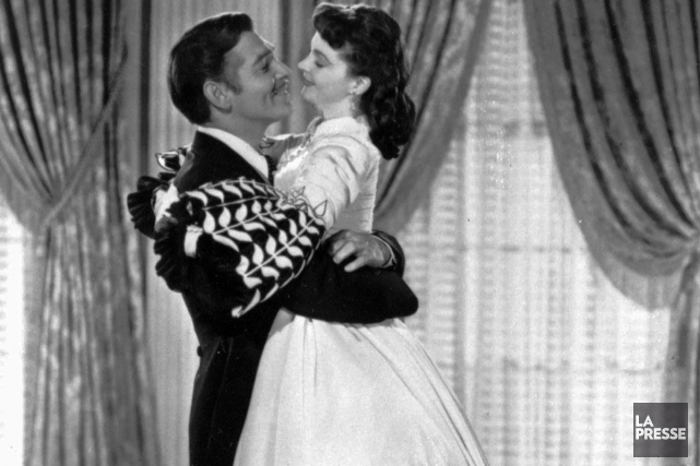 Clark Gable et Vivien Leigh incarnent Rhett Butler... (Photo d'archives, La Presse)