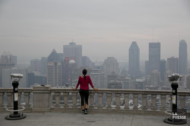 La ville de Montréal connaît plusieurs épisodes de... (PHOTO DAVID BOILY, ARCHIVES LA PRESSE)