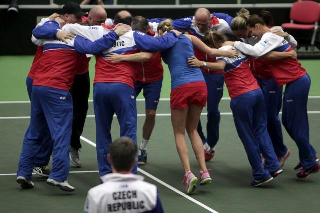 En finale, la République tchèque, championne en titre,... (PHOTO DAVID W CERNY, REUTERS)