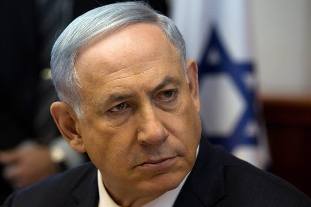 Le PM israélien Benyamin Nétanyahou a déploré lors... (PHOTO ASSOCIATED PRESS)