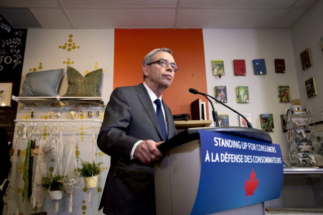 Le ministre canadien des Finances, Joe Oliver,a soutenu... (PHOTO DARREN CALABRESE, PC)