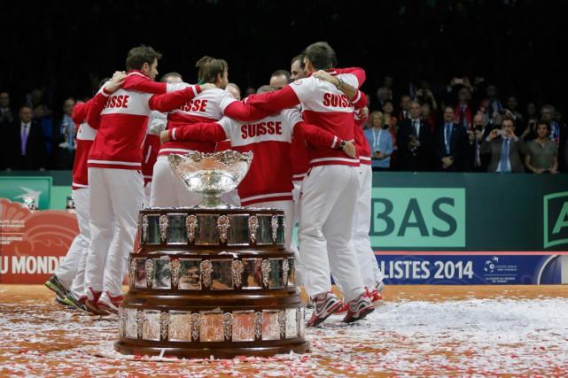 La Suisse a remporté la dernière édition de... (PHOTO GONZALO FUENTES, ARCHIVES REUTERS)