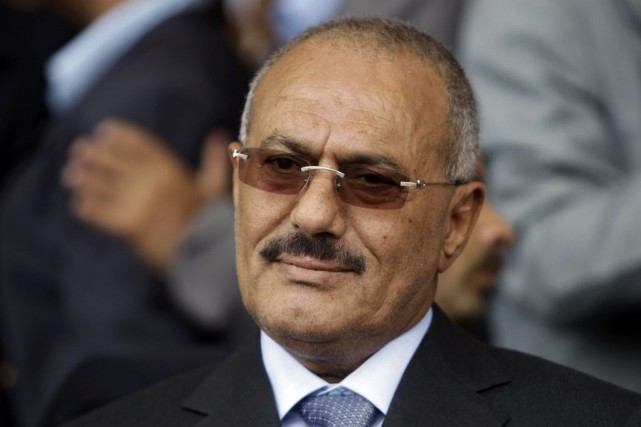 L'ancien président yéménite Ali AbdallahSaleh.... (Photo Ammar Awad, Archives Reuters)