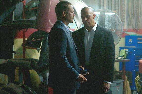 Paul Walker et Vin Diesel.... (Photo courtoisie)