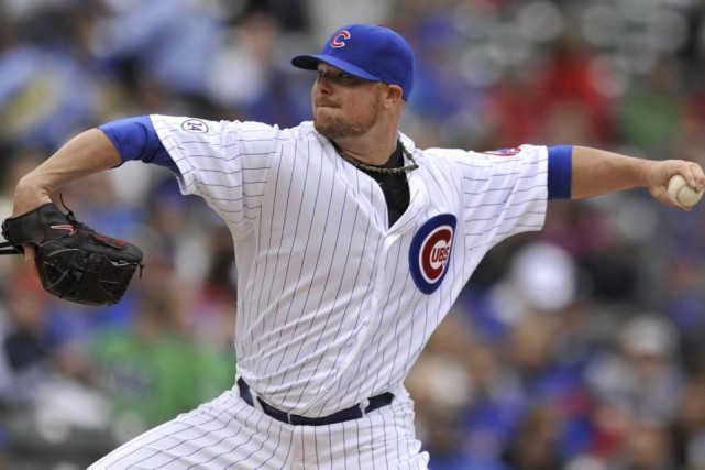 Jon Lester... (PHOTO PAUL BEATY, AP)