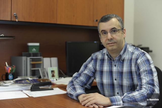 Le président du Syndicat des professeur(e)s de l'UQTR,... (Photo: Sylvain Mayer Le Nouvelliste)